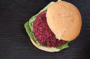 Fresh Beet Gluten-Free Burger Recipe