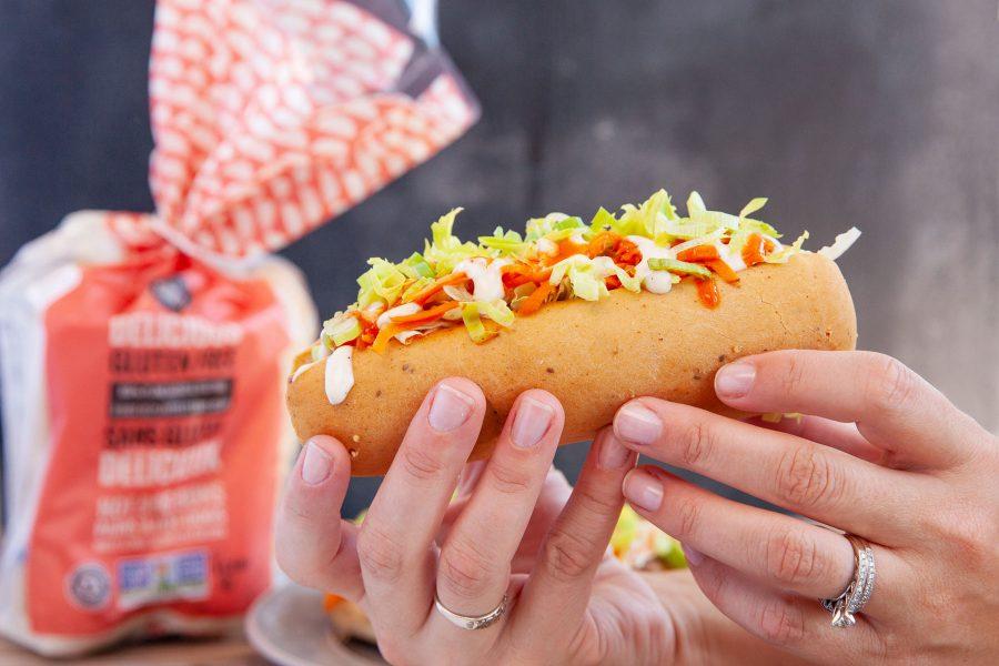 Vegan Gluten free Buffalo Hot Dog Recipe