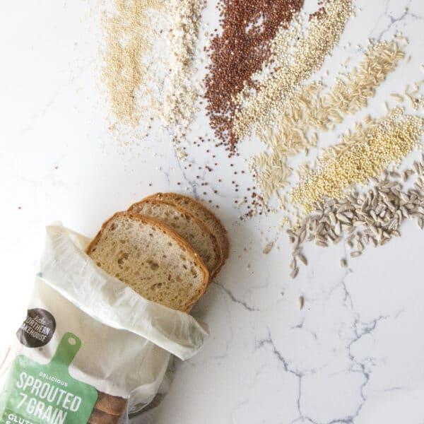 Gluten-free Whole Grains bread loaf