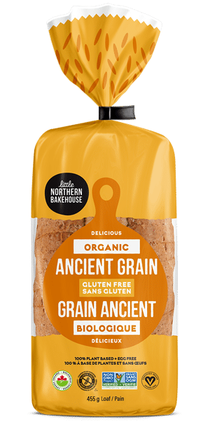 Organic Ancient Grain Gluten-free Bread by Little Northern Bakehouse | Certified Organic Gluten Free Bread