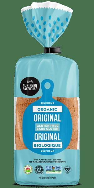 Organic Gluten-free Original Bread by Little Northern Bakehouse | Certified Organic Gluten Free Bread