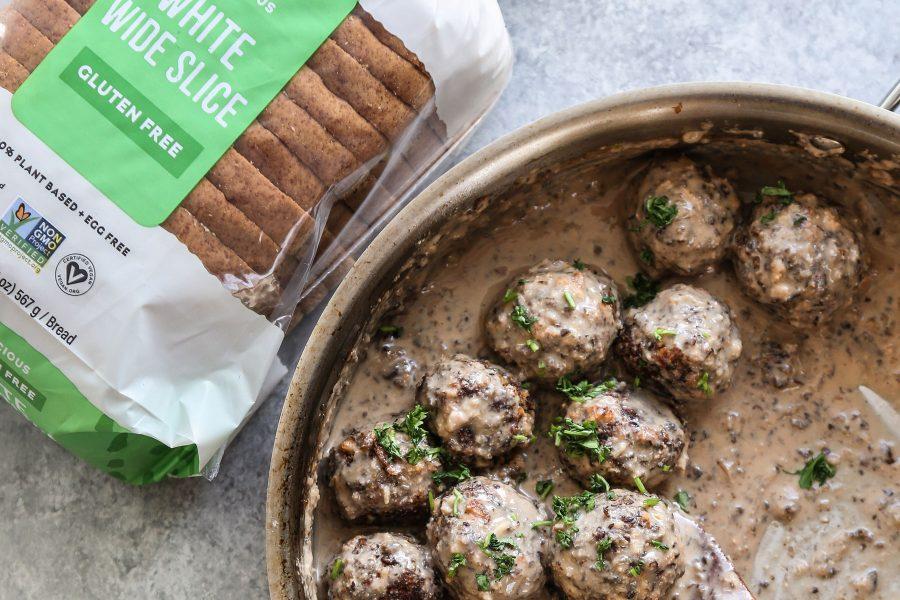 Vegan Swedish Meatballs - Gluten-free Recipe