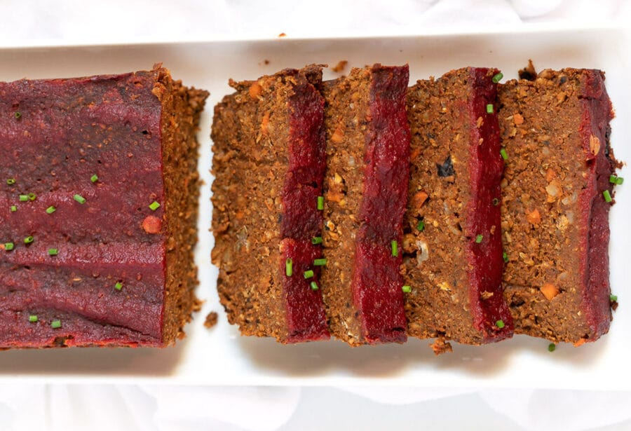 Vegan Gluten-free Lentil Quinoa Loaf for Easy Weeknight Dinners