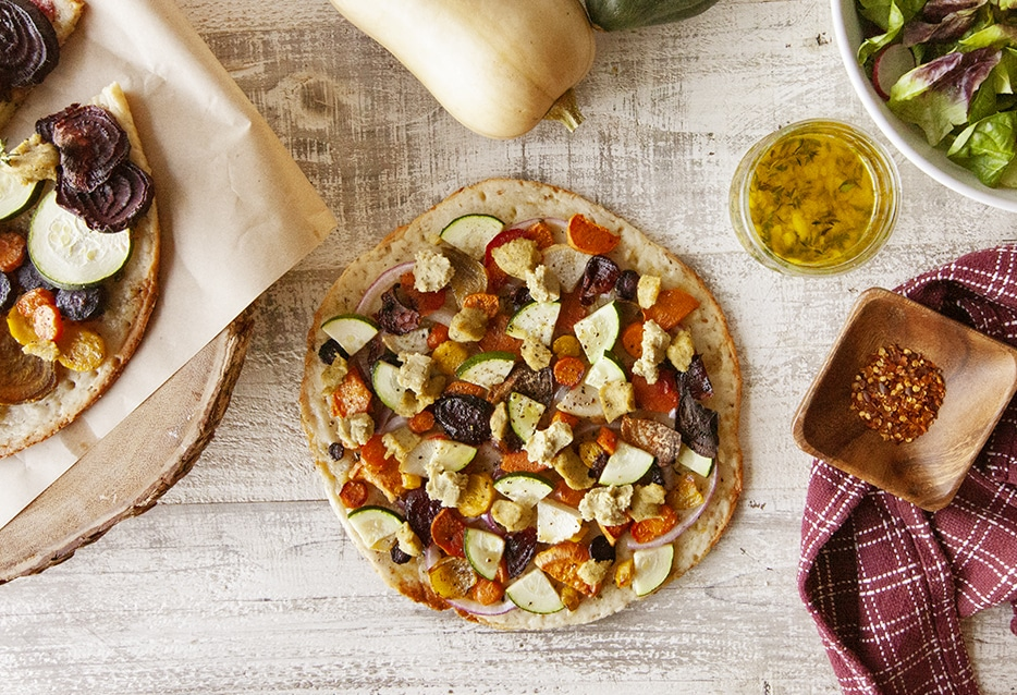 Get the Recipe: Roasted Root Vegetable Gluten-free Flatbread