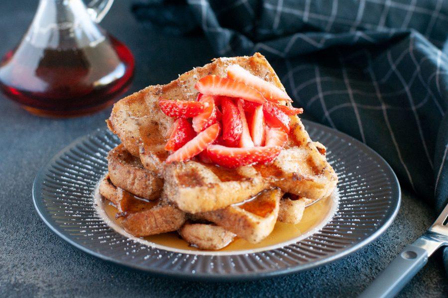 Breakfast for Dinner: Easy Gluten-free Waffle Maker French Toast